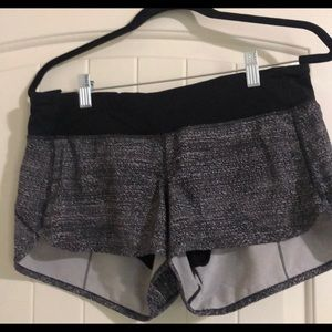2.5 Speed Up Shorts - Grey, Size 8